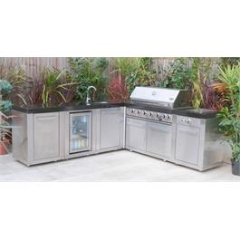 Mont Alpi 6 Burner Build-In Outdoor Kitchen  Thumbnail Image 2