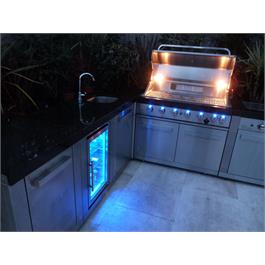 Mont Alpi 6 Burner Build-In Outdoor Kitchen  Thumbnail Image 5