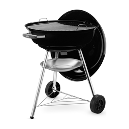 Weber 57cm Compact Black Charcoal Barbecue Thumbnail Image 2