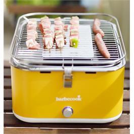 Barbecook Carlo Yellow Portable Charcoal Barbecue Thumbnail Image 1