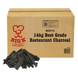 Big K 14kg Premium Grade Boxed Restaurant Charcoal thumbnail