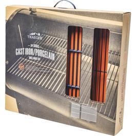 Traeger Cast Iron Grill Grate Kit Large Thumbnail Image 0