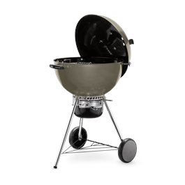 Weber Master-Touch Smoke Grey E-5750 Charcoal Grill  Thumbnail Image 2