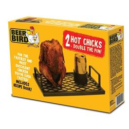 Double Beer Bird Chicken Roaster thumbnail