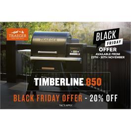 Traeger Timberline D2 850 Wood Pellet Grill thumbnail
