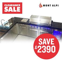 Mont Alpi 6 Burner Build-In Kitchen RRP £6385 NOW £3995 thumbnail