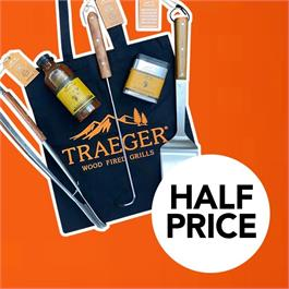 Traeger Accessory Bundle RRP £90 NOW HALF PRICE £45! Thumbnail Image 0