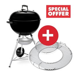 Weber Original Kettle E-5710 Charcoal BBQ Includes FREE GBS Hinged Cooking Grate thumbnail