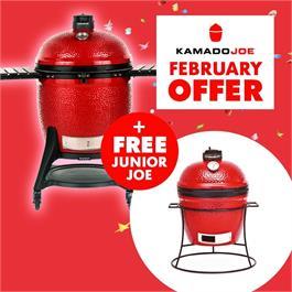 Buy the Kamado Joe Big Joe 3 & Get a Kamado Joe Junior FREE! thumbnail