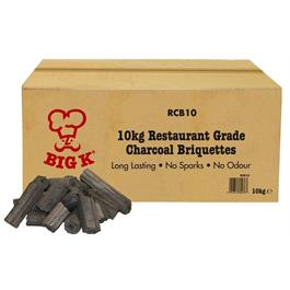 Big K 10kg Boxed Restaurant Charcoal thumbnail