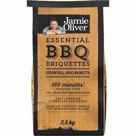 4 X Jamie Oliver BBQ Briquettes 2.5kg thumbnail