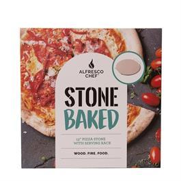 Alfresco Chef 13'' Pizza Stone Thumbnail Image 1