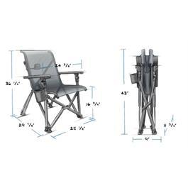 Yeti Trailhead Campchair Charcoal Thumbnail Image 13
