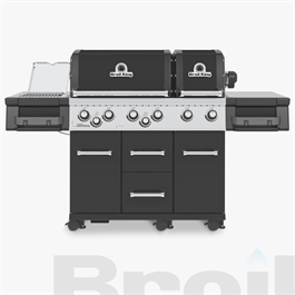 Broil King® Imperial™ 690 IR Black Barbecue thumbnail