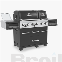 Broil King® Imperial™ 690 IR Black Barbecue Thumbnail Image 2