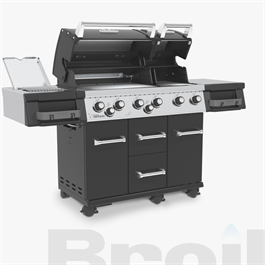Broil King® Imperial™ 690 IR Black Barbecue Thumbnail Image 3