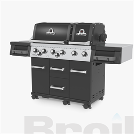 Broil King® Imperial™ 690 IR Black Barbecue Thumbnail Image 4
