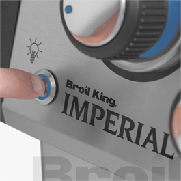 Broil King® Imperial™ 690 IR Black Barbecue Thumbnail Image 14