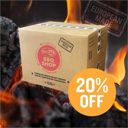 Socal 15kg Boxed Restaurant Grade European Charcoal thumbnail