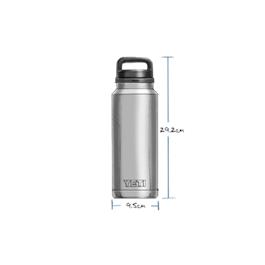 Yeti Rambler 36oz Bottle - Graphite Thumbnail Image 2