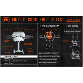 PK Grills - PK360 - Black Thumbnail Image 3