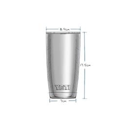 Yeti Rambler 20oz Tumbler - Granite Grey Thumbnail Image 3