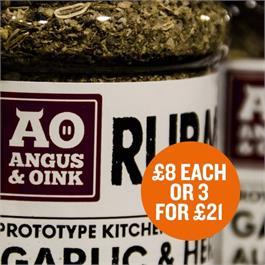 Angus & Oink Rubs £8 Each or 3 For £21 thumbnail